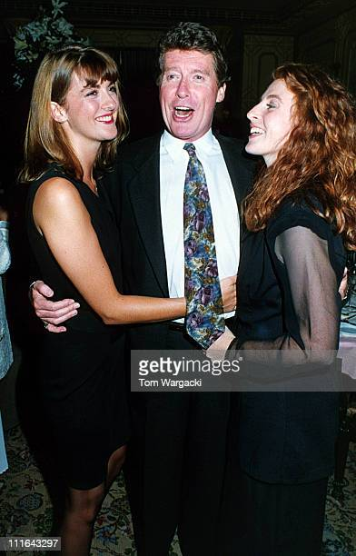 Michael Crawford with his daughters Lucy and Emma