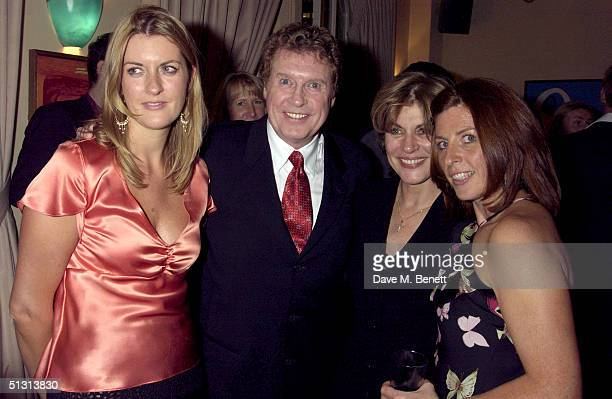 Michael Crawford with wife Gabriella Crawford and daugfhters Lucy Crawford and Emma Crawford attends the Premiere and Press Night of Lord Andrew...