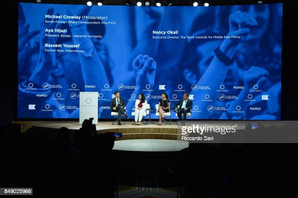 Michael Crowley, Senior Foreign Affairs Correspondent, POLITICO, Aya Hijazi, President, Belady – Island for Humanity, Dr. Nancy Okail Executive...