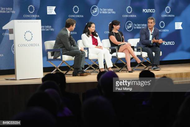 Michael Crowley, Senior Foreign Affairs Correspondent, Politico, Aya Hijazi, President, Belady - Island for Humanity, Dr. Nancy Okail, Executive...