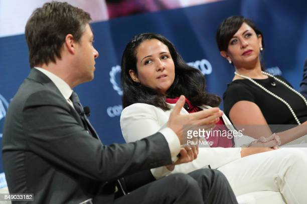 Michael Crowley, Senior Foreign Affairs Correspondent, Politico, Aya Hijazi, President, Belady - Island for Humanity, and Dr. Nancy Okail, Executive...
