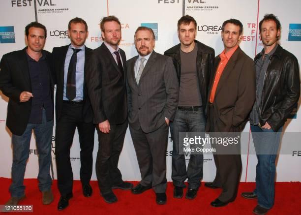 Michael Cuesta Josh Lucas Dallas Roberts Jamie Harrold Scott Winters and Martin Shore attend the 8th Annual Tribeca Film Festival Tell Tale premiere...