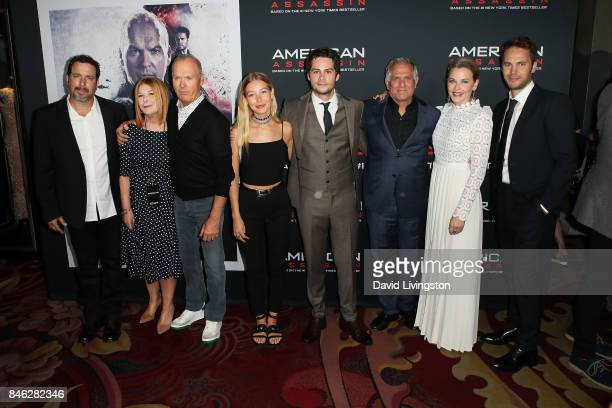 Michael Cuesta Terry Press Michael Keaton Charlotte Vega Dylan O'Brien Leslie Moonves Lisa Flynn and Taylor Kitsch attend a Screening of CBS Films...