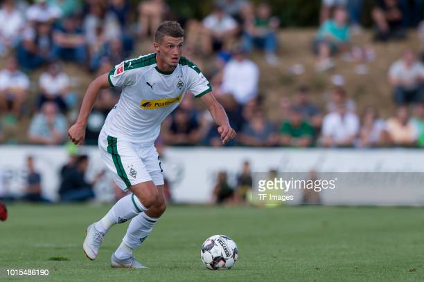 Michael Cuisance of Borussia Moenchengladbach controls the ball during the friendly match beween Borussia Moenchengladbach and Espanyol Barcelona on...