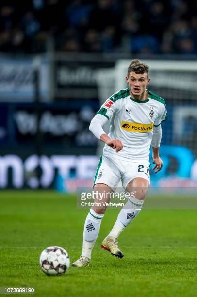 Michael Cuisance of Borussia Moenchengladbach during the Bundesliga match between TSG 1899 Hoffenheim and Borussia Moenchengladbach at Wirsol...