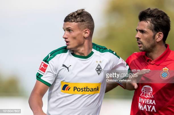 Michael Cuisance of Borussia Moenchengladbach during the preseason friendly match between Borussia Moenchengladbach and Espanyol Barcelona at...
