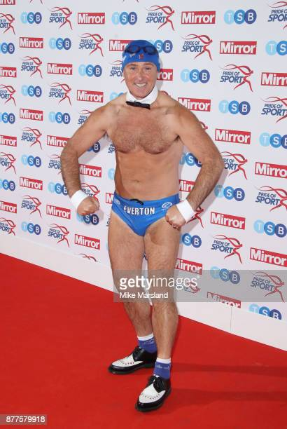 Michael Cullen aka Speedo Mick attends the Pride of Sport awards at Grosvenor House on November 22 2017 in London England