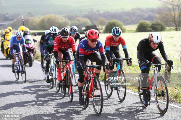 Michael Cuming of United Kingdom and Team Madison Genesis / Kévin Reza of France and Team Vital Concept BB Hotels / Rob Scott of United Kingdom and...