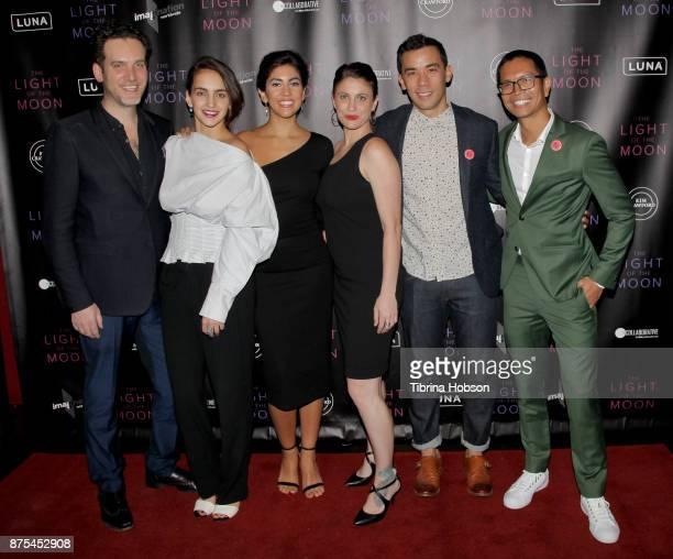 Michael Cuomo Myriam Schroeter Stephanie Beatriz Jessica Thompson Conrad Ricamora and Carlo Velayo attend 'The Light Of The Moon' Los Angeles...