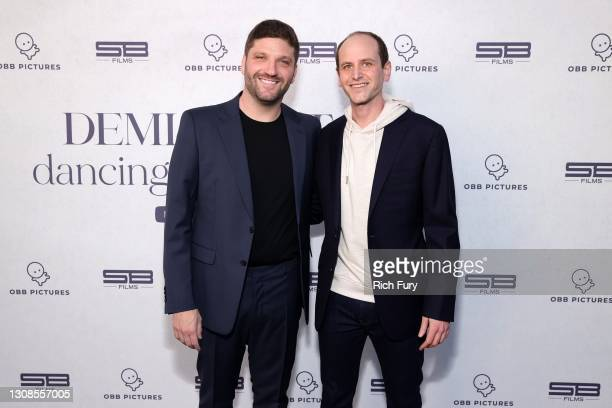 "Michael D. Ratner, Director/Executive Producer OBB Pictures and Kfir Goldberg attend the OBB Premiere Event for YouTube Originals Docuseries ""Demi..."