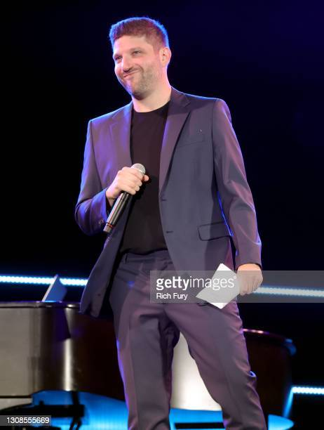 """Michael D. Ratner, Director/Executive Producer OBB Pictures speaks onstage during the OBB Premiere Event for YouTube Originals Docuseries """"Demi..."""