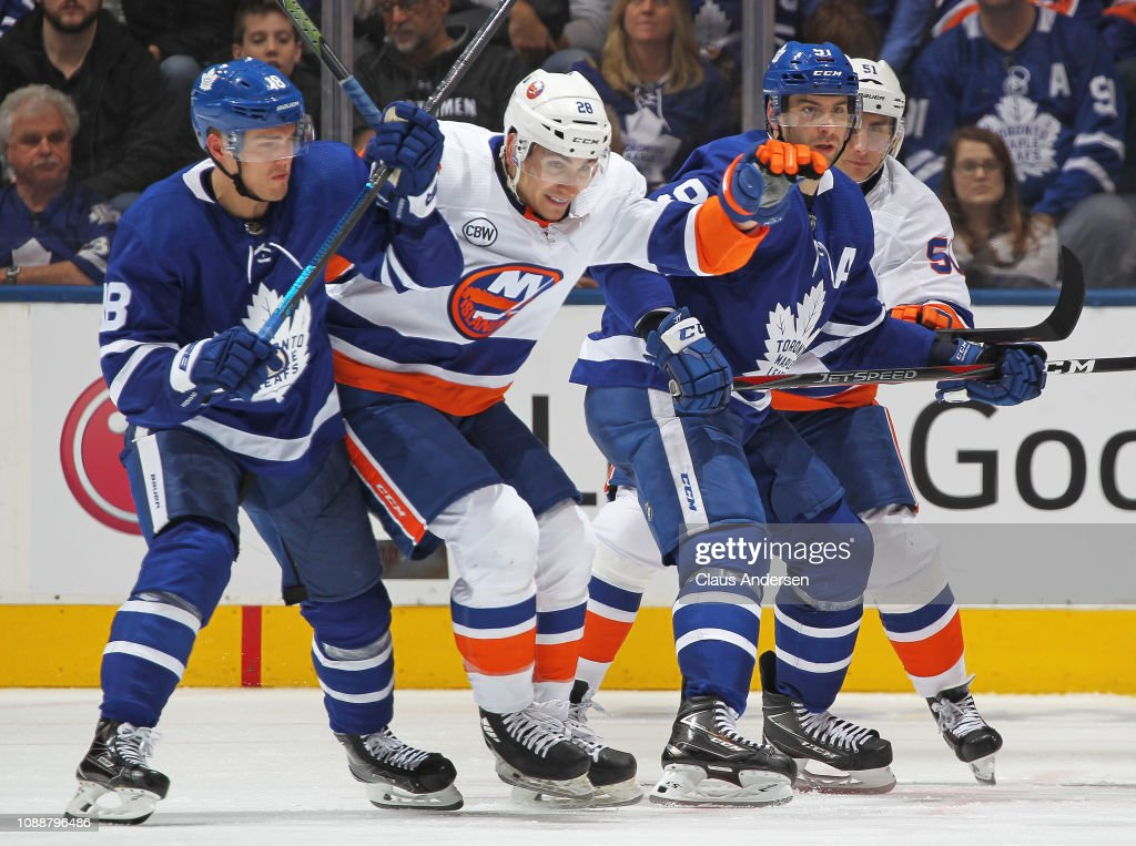 New York Islanders v Toronto Maple Leafs : News Photo