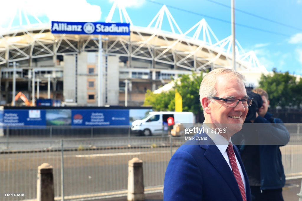 AUS: Michael Daley Press Conference Update On Allianz Stadium