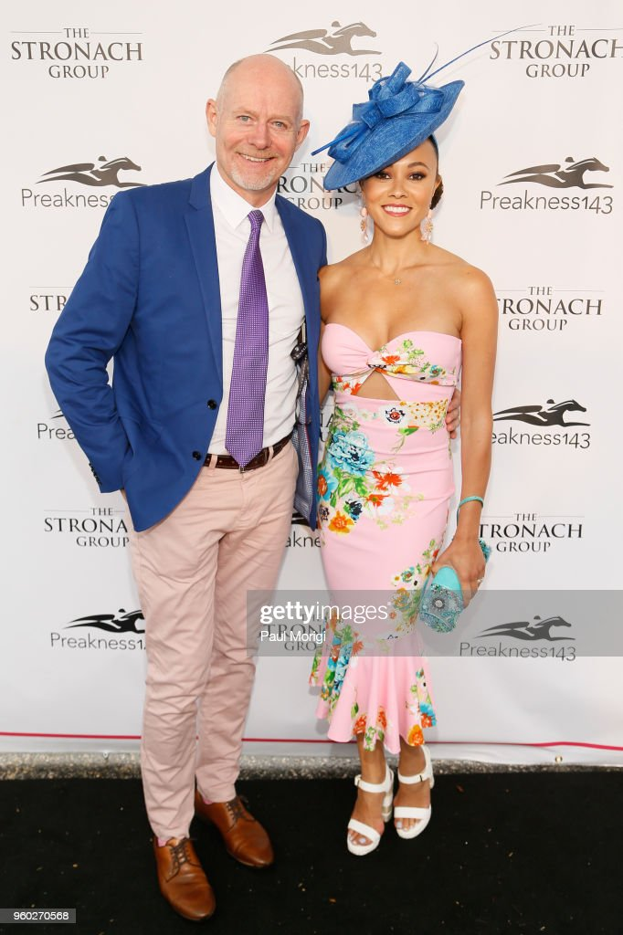 The Stronach Group Chalet At 143rd Preakness Stakes : News Photo