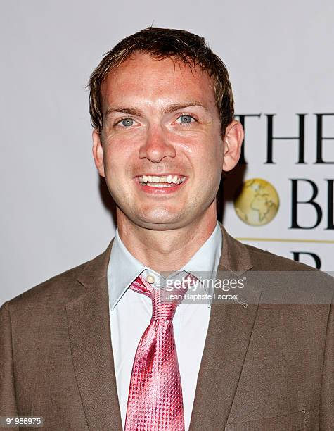 """Michael Dean Shelton arrives at the first annual """"Noble Awards"""" at The Beverly Hilton Hotel on October 18, 2009 in Beverly Hills, California."""