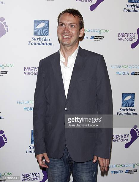 Michael Dean Shelton arrives at The Surfrider Foundation's 25th Anniversary Gala at the California Science Center's Wallis Annenberg Building on...