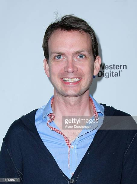 """Michael Dean Shelton arrives for the premiere of """"Margarine Wars"""" at ArcLight Hollywood on March 29, 2012 in Hollywood, California."""