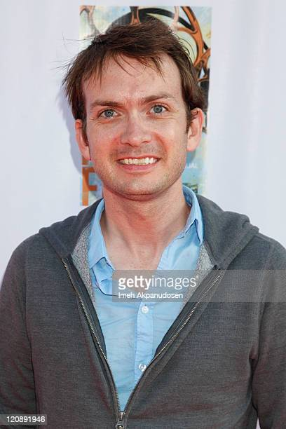 Michael Dean Shelton arrvies at the HollyShorts Short Films Festival Opening Night Gala on August 11, 2011 in Hollywood, California.