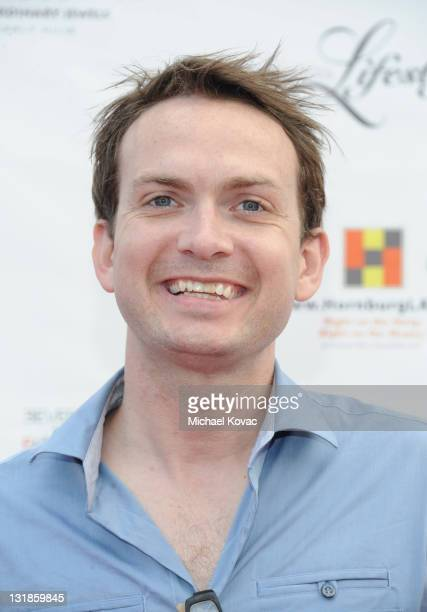 Michael Dean Shelton attends 2010 Beverly Hills Fashion Fair Arrivals on November 6 2010 in Los Angeles California
