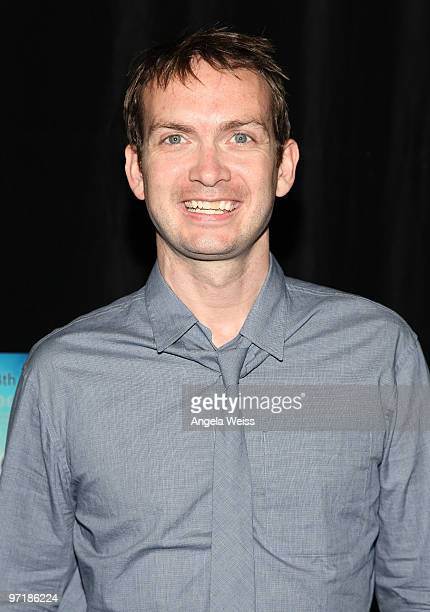 Michael Dean Shelton attends Kat Kramer's Films That Changed The World screening of 'The Cove' at KTLA Studios on February 28 2010 in Los Angeles...