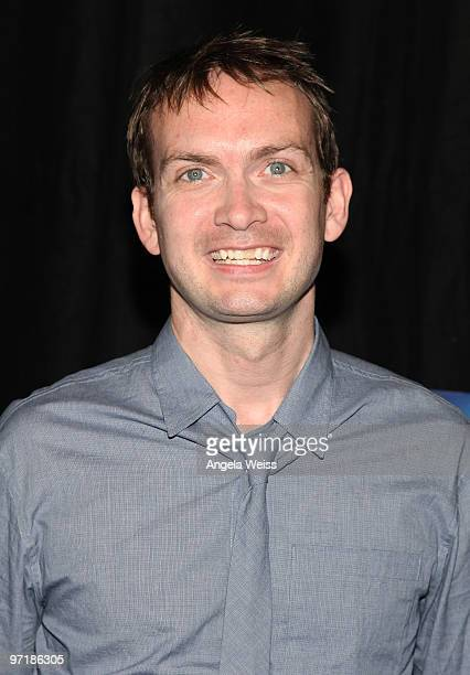 Michael Dean Shelton attends Kat Kramer's Films That Changed The World screening of 'The Cove' at KTLA Studios on February 28, 2010 in Los Angeles,...