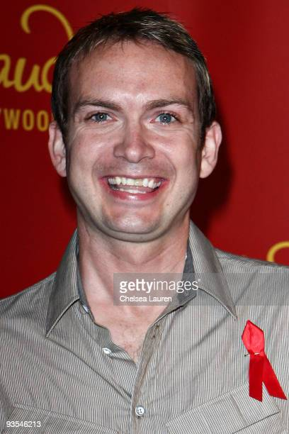 Michael Dean Shelton attends the annual Mattel Children's Hospital holiday party at Madame Tussaud's on December 1 2009 in Hollywood California