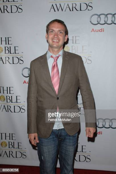 Michael Dean Shelton attends THE NOBLE AWARDS at The Beverly Hills Hilton on October 18, 2009 in Beverly Hills, California.