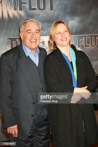 "Michael Degen and his wife Susanne Sturm at The Premiere Of Rtl two-parter ""The Flood 'The Curio House in Hamburg 310106."