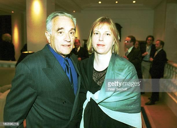 Michael Degen Lebensgefährtin Susanne Sturm Nominierung zum Deutschen Filmpreis 2002 Hotel Adlon Berlin Freundin