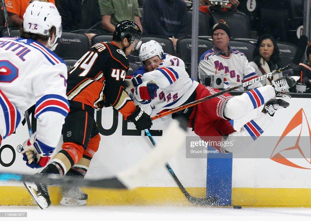 New York Rangers v Anaheim Ducks : ニュース写真