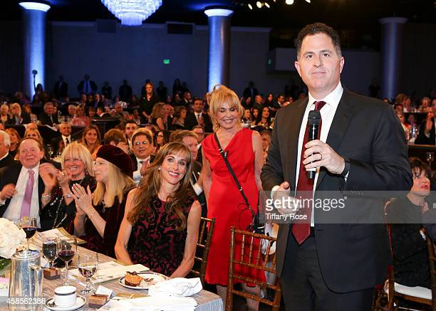 Michael Dell attends the Friends Of The Israel Defense Forces 2014 Western Region Gala at The Beverly Hilton Hotel on November 6 2014 in Beverly...