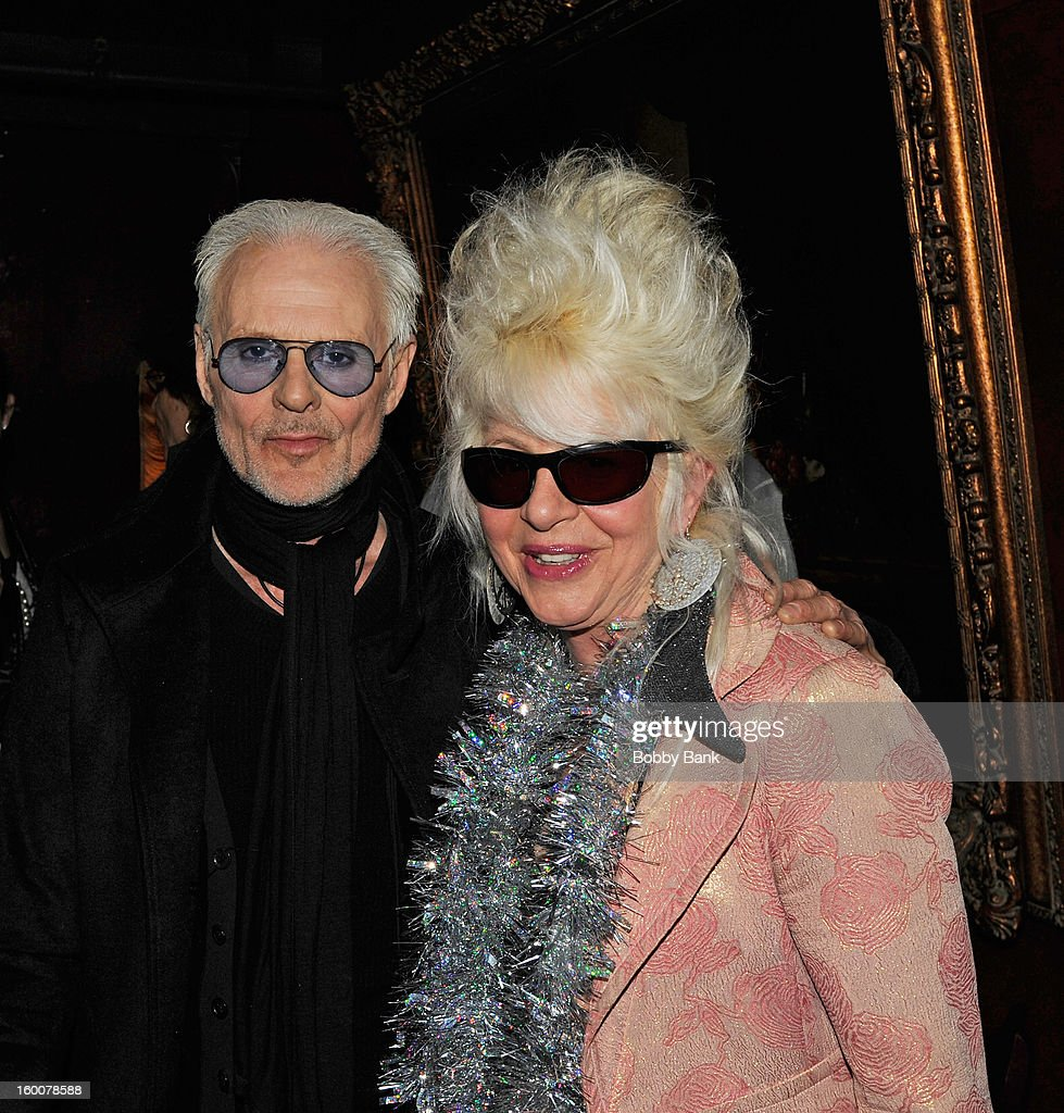 Michael Des Barres and Christine Ohlman performs at The Cutting Room on January 25, 2013 in New York, New York.