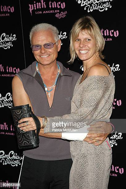 Michael Des Barres and Kristen Kline attend Harry Morton's Pink Taco Restaurant Celebrates the Opening of New Los Angeles Outpost at Pink Taco on...
