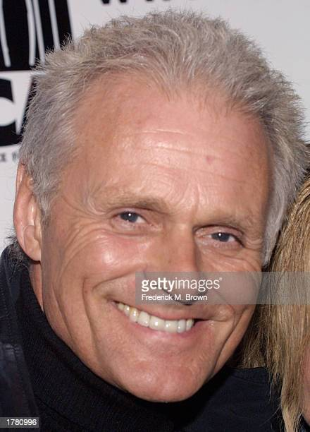 Michael Des Barres attends the Last Chance For Animals fundraiser party on February 12 2003 in Los Angeles California The event benefits National Pet...