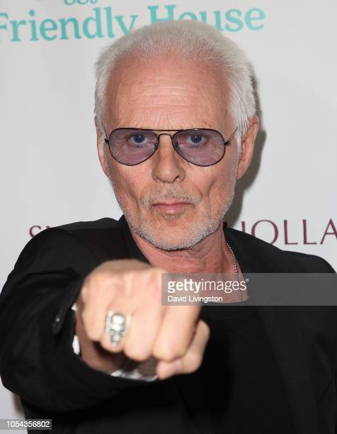 Michael Des Barres attends the Peggy Albrecht Friendly House's 29th Annual Awards Luncheon at The Beverly Hilton Hotel on October 27 2018 in Beverly...