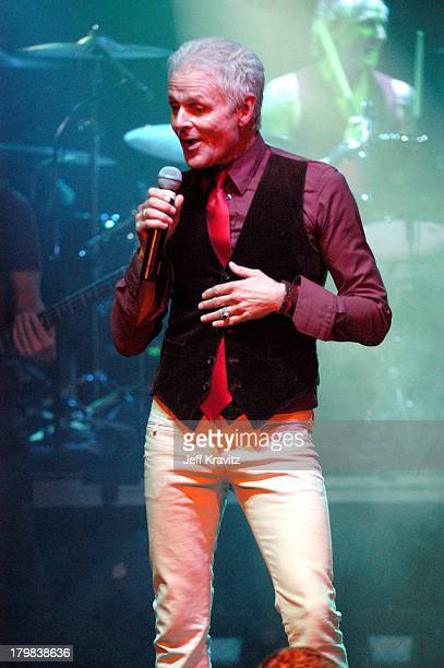 Michael Des Barres during Camp Freddy Benefit Concert for South East Asia Tsunami Relief at Key Club in Hollywood California United States