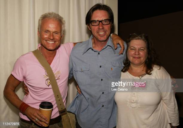 Michael Des Barres John Doe and Allison Anders during Don't Knock the Rock Festival Opening Night Premiere of Gram Parsons Fallen Angel at ArcLight...