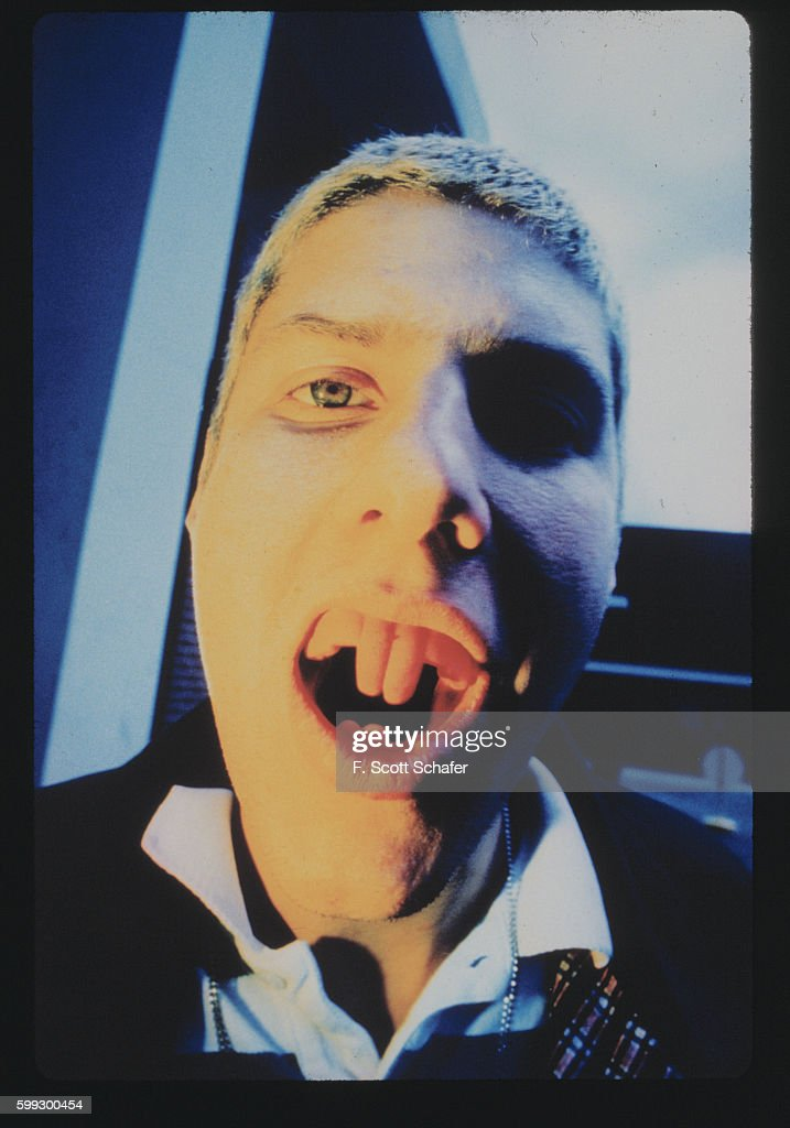 Michael Diamond of the Beastie Boys is photographed in January 1994.