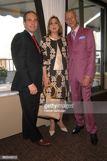 Michael Divine Janice Langrall and Jamie Drake attend Lenox Hill Neighborhood House Celebrates the 40th Anniversary of the DD Building at DD Building...