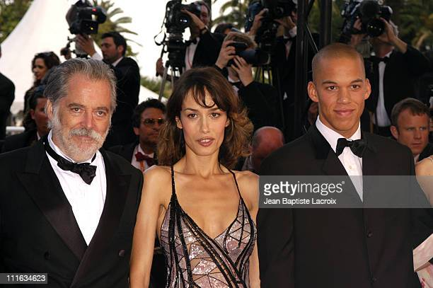 Michael Dolores George Chaplin during 2003 Cannes Film Festival Closing Ceremony Arrivals at Palais des Festivals in Cannes France