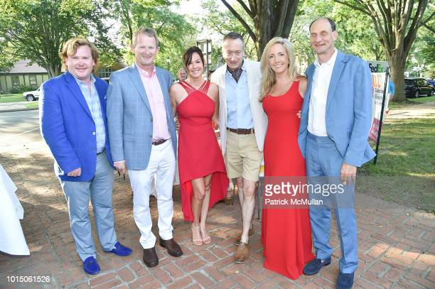 Michael Donnellan Declan Blackmore Ann Blackmore Edward Siegel Elizabeth Dedovich and Samuel Coleman attend the Guild Hall Summer Gala 2018 at Guild...