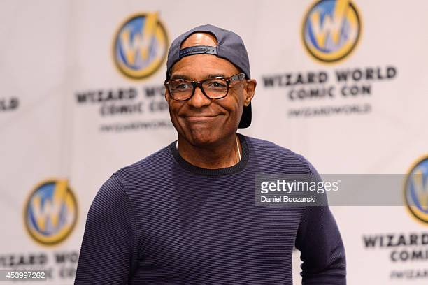 Michael Dorn attends Wizard World Chicago Comic Con 2014 at Donald E Stephens Convention Center on August 22 2014 in Chicago Illinois