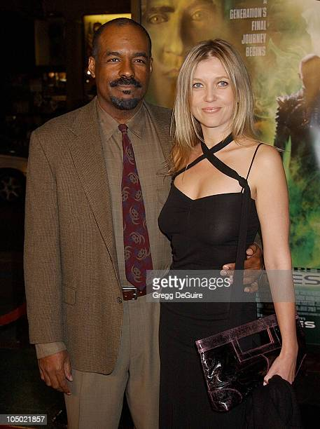Michael Dorn guest during Star Trek Nemesis World Premiere at Grauman's Chinese Theatre in Hollywood California United States