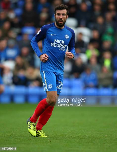 Michael Doughty of Peterborough United during the Sky Bet League One match between Peterborough United and Shrewsbury Town at ABAX Stadium on October...