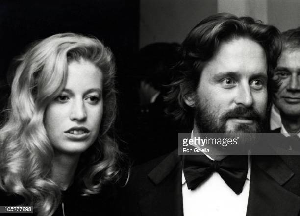 Michael Douglas and Diandra Douglas during American Film Institute 10th Anniversary at Kennedy Center in Washington DC Maryland United States