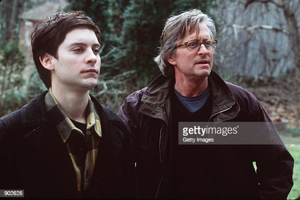 Michael Douglas and James Leer star in 'Wonder Boys' Photo Paramount Pictures
