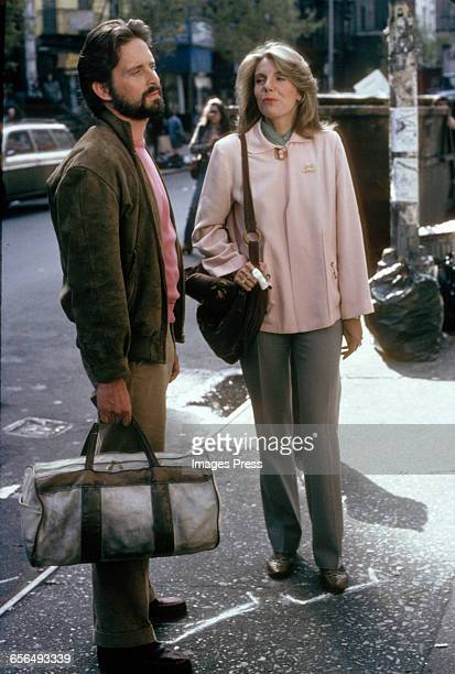 Michael Douglas and Jill Clayburgh filming It's My Turn circa 1980 in New York City