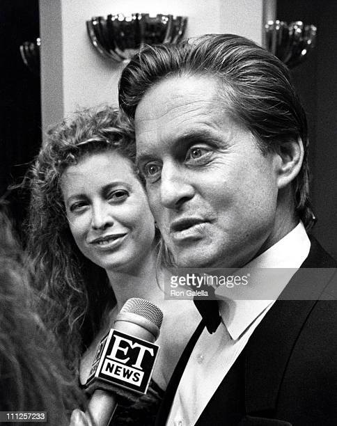 Michael Douglas and Wife Diandra during The American Academy of Dramatic Arts Tribute to Kirk Douglas at Waldorf Astoria Hotel in New York City New...