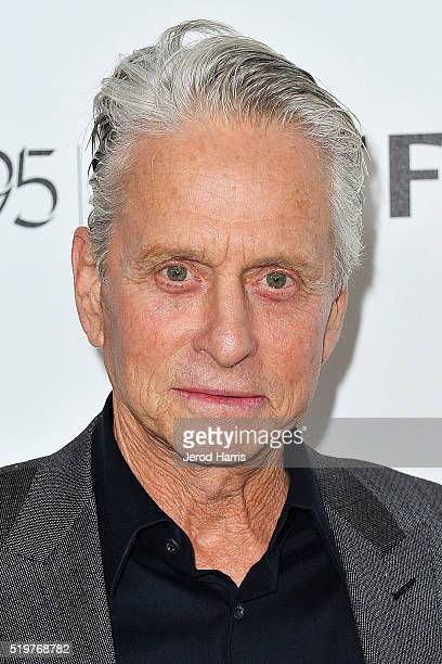 Michael Douglas arrives at the 5th Annual Reel Stories Real Lives Benefiting MPTF at Milk Studios on April 7 2016 in Los Angeles California
