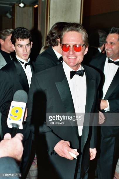 Michael Douglas at The 1993 Rock And Roll Hall of Fame at The Century Plaza on January 12th, 1993 in Los Angeles, CA.